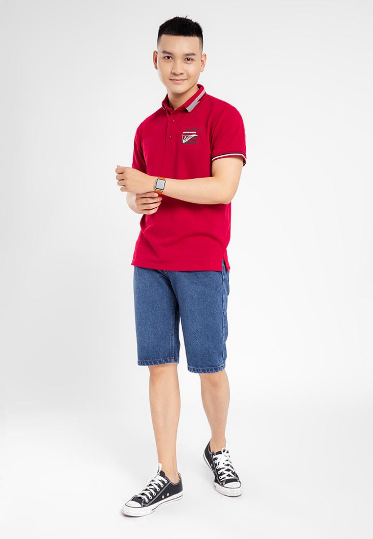 Áo thun nam Polo in logo trước ngực JONNY SON CS01