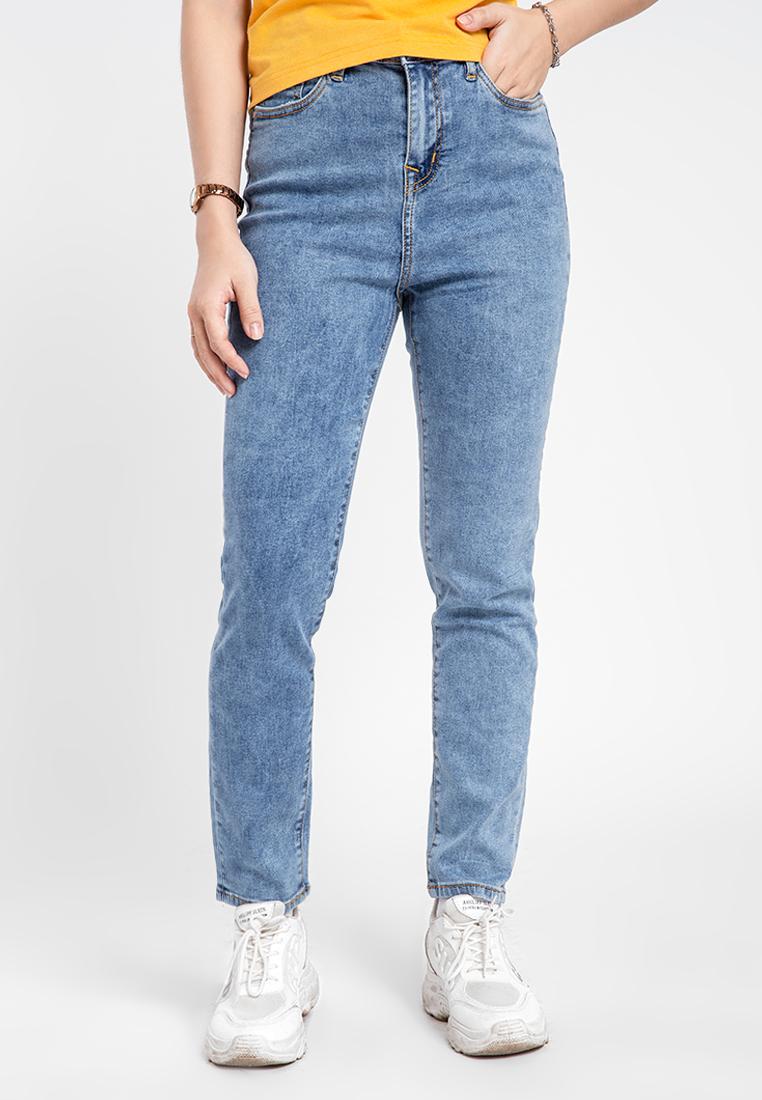 Quần jean nữ dài slim JONNY SON DX63