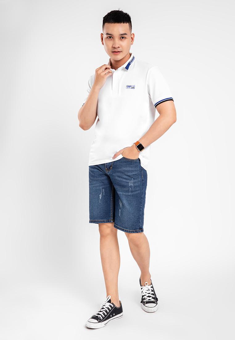 Áo thun nam Polo in logo ngực JONNY SON H107