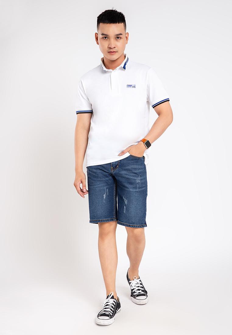 Quần short nam cào rách thời trang JONNY SON QMT000219YS