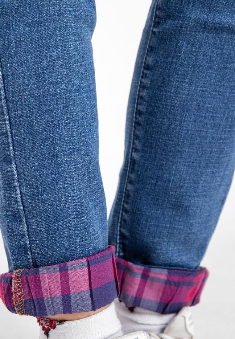 Quần jean nữ dài xăn lai thời trang JONNY SON QXD93YAD021